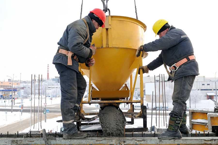 Бетон щик объем бетонной смеси гост
